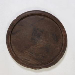 Wooden-Tray-Antique---Round