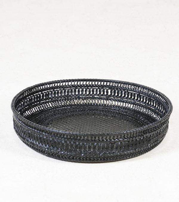Jeff-Bamboo-Rattan-Magazine-basket----BLACK