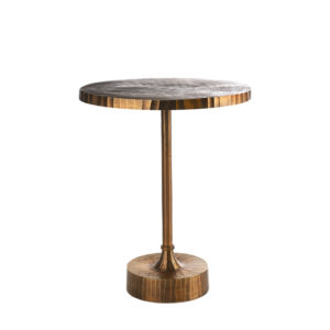 Side Table Mace - Antique Brass