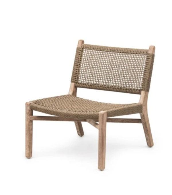 Lounge Chair Fiona - Teak & PE Wicker
