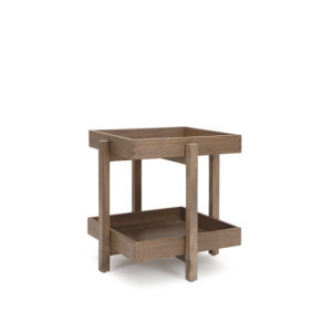 Brut Side Table - MOCCA