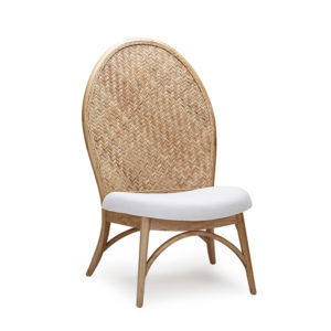 Forio Accent Chair - Kroma with Natural Weaving