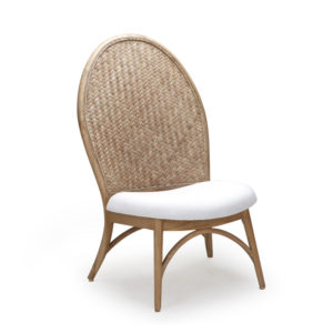 Forio Accent Chair - V-Kroma with Light Grey Weaving