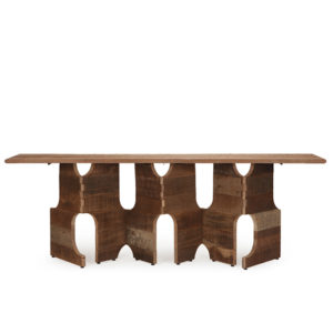 Link Console Table - Natural Old Wood