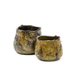 CUP PUNCH - Brown Occre Glaze