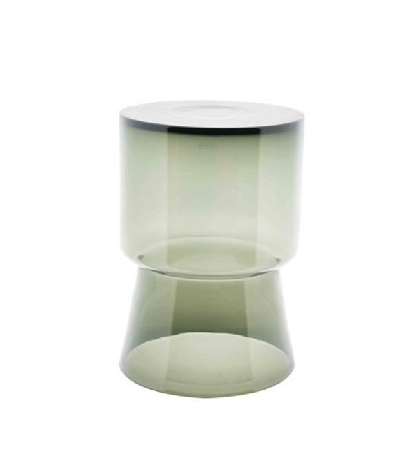 SIDE TABLE GLASS SMOKE