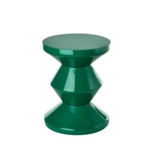 Side Table - Zig Zag - Emerald Green