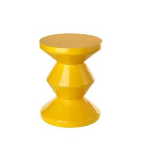 Side Table - Zig Zag - Yellow
