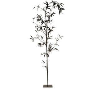 Bamboo + Stand Black
