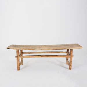 Coffee Table Bleached Natural Wood