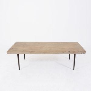 Coffee Table Pointy Metal Legs 135x67cm