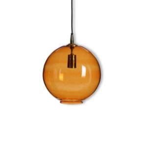 Hanging lamp York - LARGE- Ø28cm - Amber