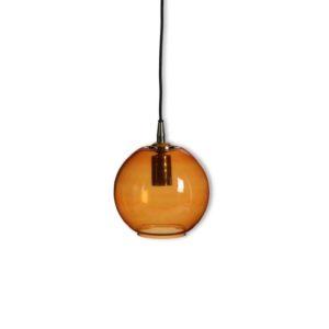 Hanging lamp York- SMALL - Ø20cm - Amber