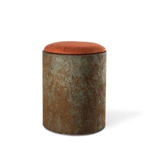 Stool Cap Green Rust