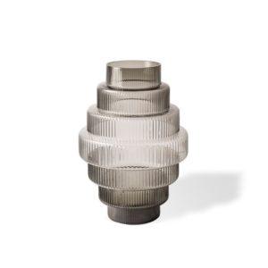 Vase Steps Grey Small
